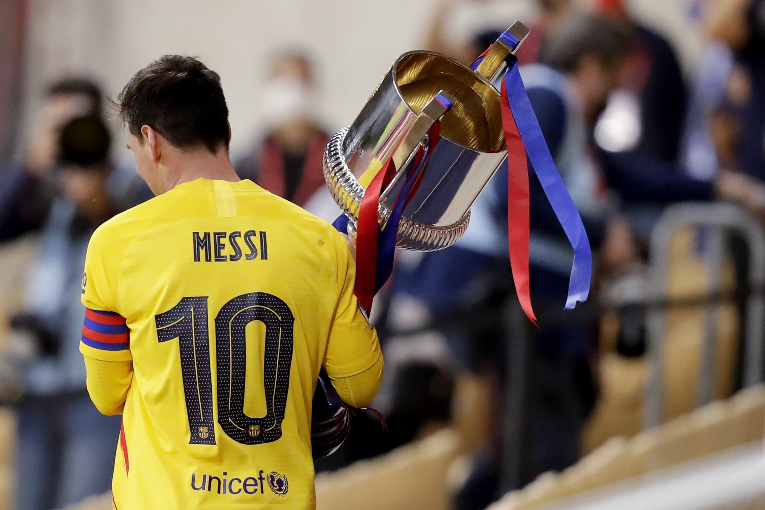 Lionel Messi prey for more titles after Copa del Rey 'turning point'