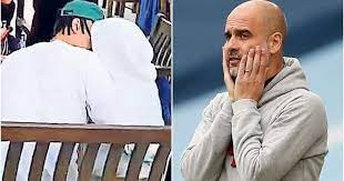 Tottenham News | Star Dele Alli spotted kissing Man City manager Pep Guardiola's daughter