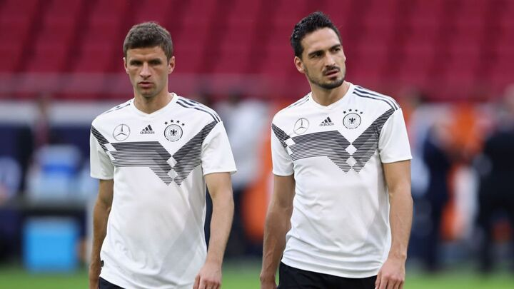 Hummels and Muller back in the Germany international squad for Euro 2020