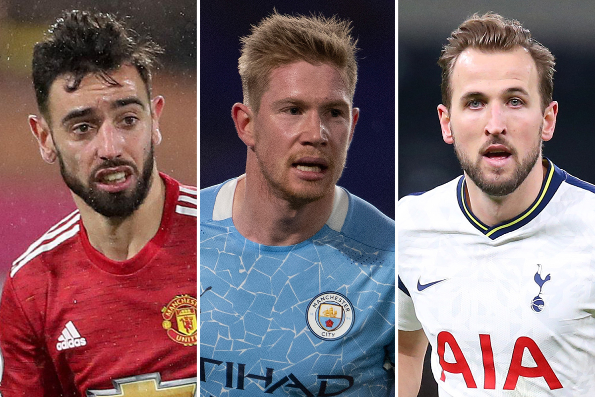 PFA Player of the Year award revealed. Bruno Fernandes, Harry Kane, and Ruben Dias tops the list